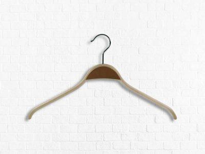 Shirtbügel aus Schichtholz