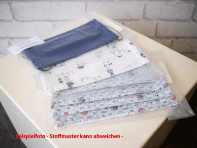 Stoffmaske Erwachsene ÖKO-TEX® Baumwolle